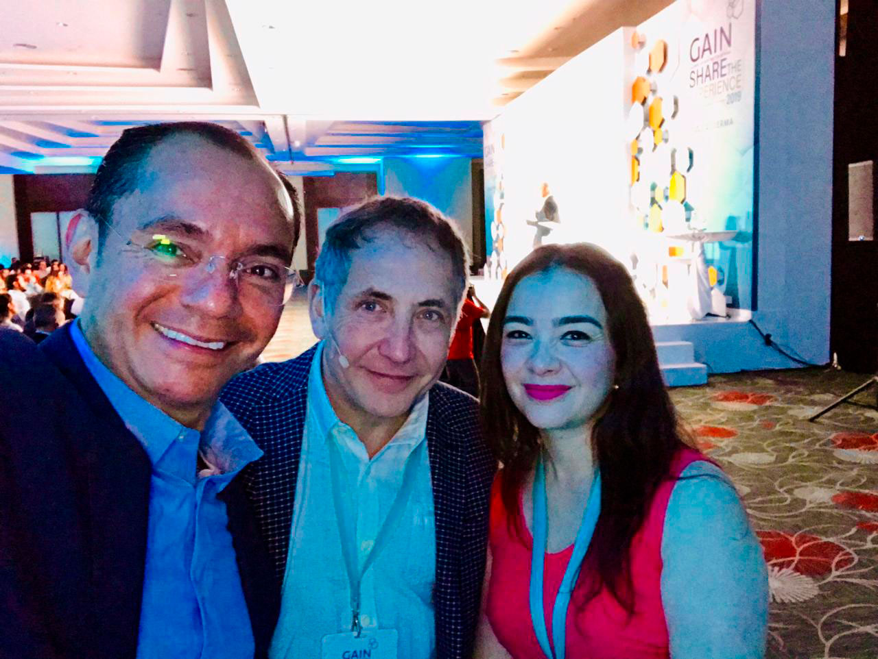 Gain share the experience 2019 Galderma Aesthetics Dr. Frank Rosengaus